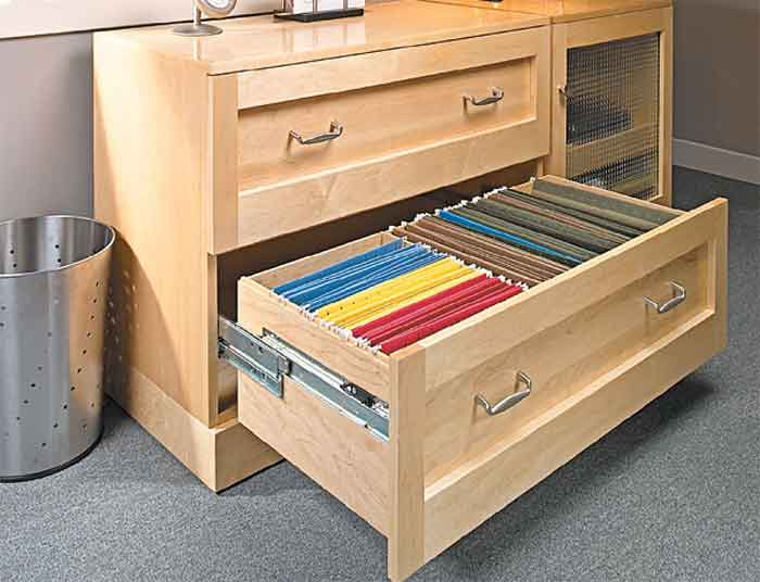 Beautiful Desk With Filing Cabinet Drawer Natures Business Paypal