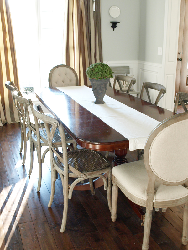 Beautiful Dining Chairs For Less Painting A Weathered Wood Finish A Dining Chair Makeover Less