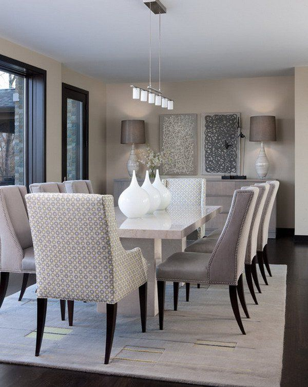 Beautiful Dining Room Table Modern Best 25 Contemporary Dining Rooms Ideas On Pinterest