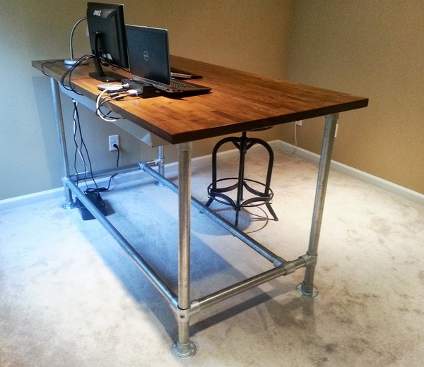 Beautiful Diy Standing Desk Diy Standing Desk Simplified Building