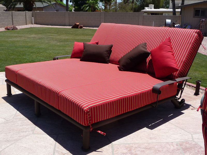 Beautiful Double Chaise Lounge Outdoor Attractive Outdoor Double Chaise Lounger Double Chaise Lounge