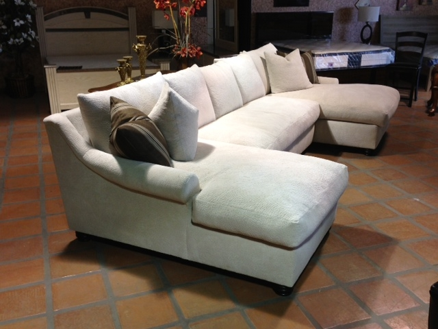 Beautiful Double Chaise Lounge Sectional Sofa Living Room Interesting Double Chaise Sofa With Sectional Allure