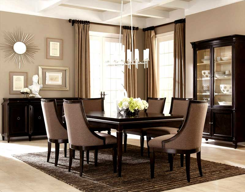 Beautiful Elegant Dining Chairs Comfortable And Elegant Dining Room Furniture Design And