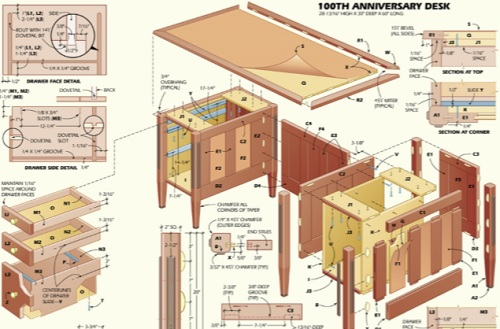 Beautiful Executive Desk Plans How To Build An Executive Desk How To Build A Desk