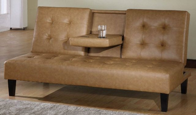 Beautiful Full Size Leather Futon Click Clack Futon For Small Living Room Exist Decor