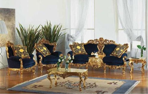 Beautiful Gold Living Room Chairs Victorian Gold Eolo Living Room Set Top And Best Italian Classic