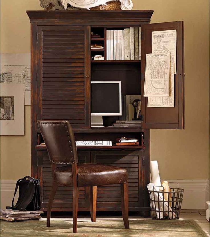 Beautiful Home Office Armoire Best 25 Computer Armoire Ideas On Pinterest Craft Armoire