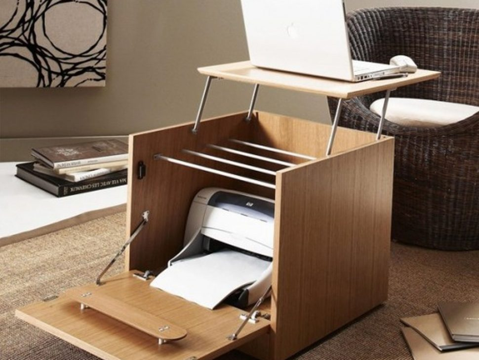 Beautiful Home Office Desk With Printer Storage Home Office Small Office Desk Design Ideas Furniture Creative