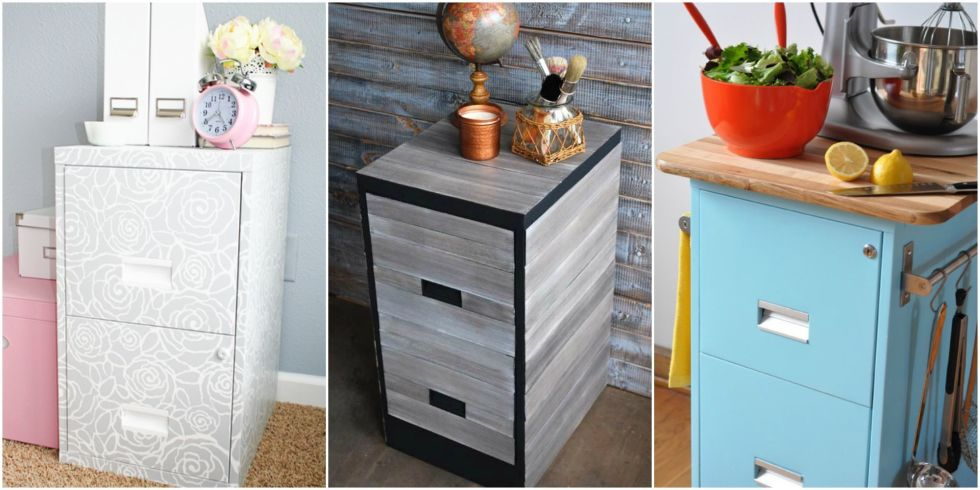 Beautiful Home Office Furniture File Cabinets 9 Filing Cabinet Makeovers New Uses For Filing Cabinets