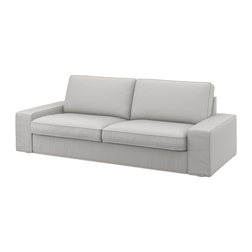 Beautiful Ikea 3 Seater Sofa Bed Kivik Three Seat Sofa Ramna Light Grey Ikea