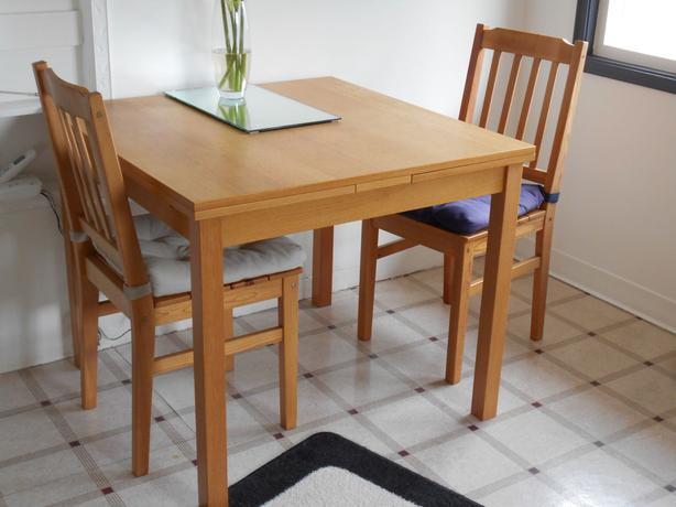 Beautiful Ikea Dining Set For Two Ikea Kloffsta Extendable Dining Table And Two Chairs Victoria City