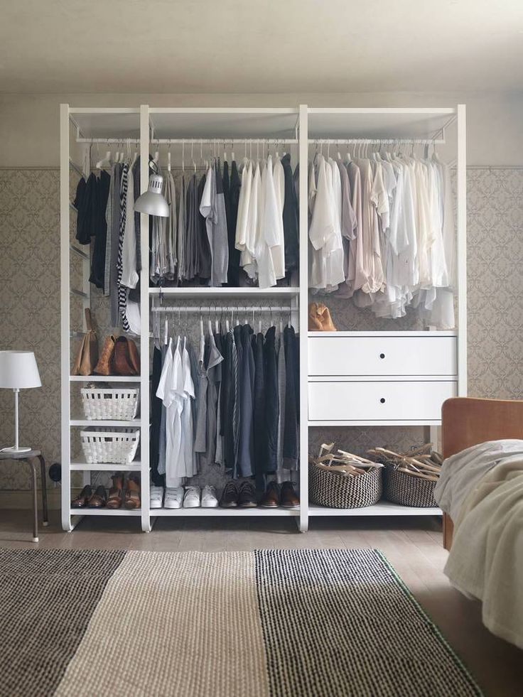 Beautiful Ikea Free Standing Wardrobe Closets Best 25 Freestanding Closet Ideas On Pinterest Diy Clothes