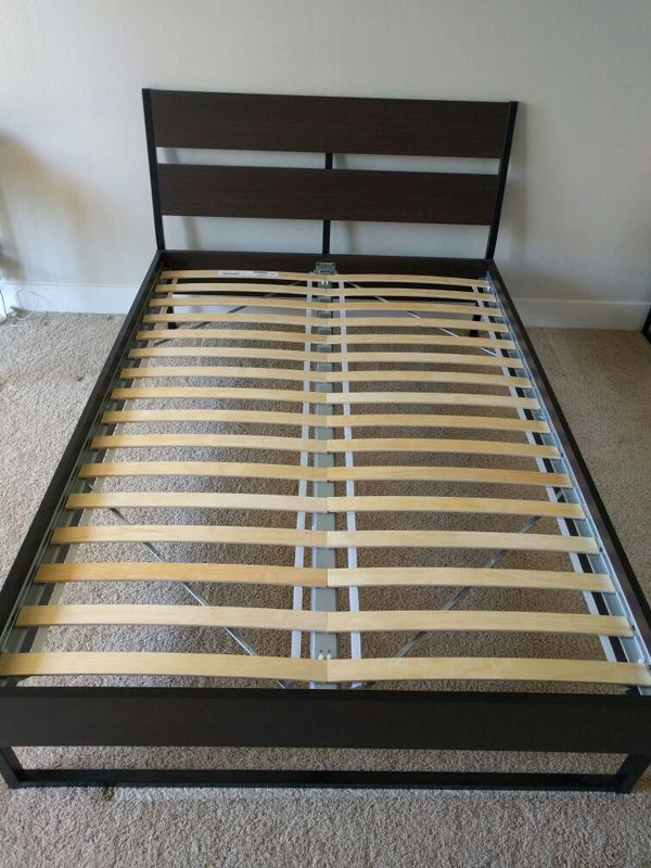 Beautiful Ikea Full Size Bed And Mattress Ikea Full Size Bed Frame Furniture In Palo Alto Ca Offerup