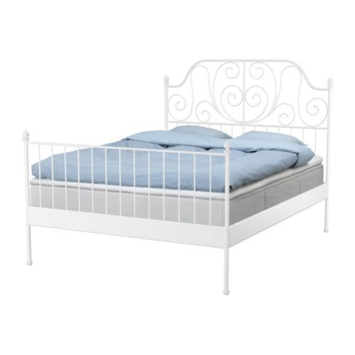 Lovable Ikea White Full Size Bed Bed Frame Ikea Malm Bed Frame White ...