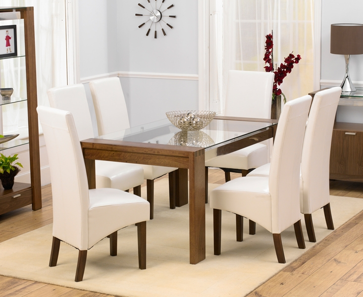 Beautiful Ivory Kitchen Chairs Dining Room Ivory Dining Table And Chairs On Dining Room Intended
