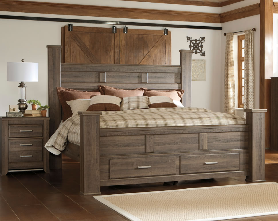 Beautiful King Bed Frame With Storage Wooden King Size Bed Frame With Storage Optimizing Home Decor