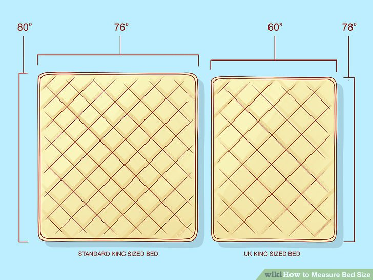 Beautiful King Size Bed Size How To Measure Bed Size 10 Steps With Pictures Wikihow