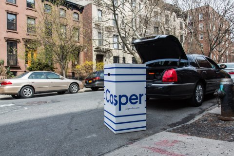 Beautiful King Size Mattress In A Box Casper Foldable Beds That Fit In A Car Trunk Business Insider