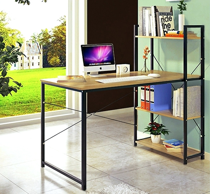 Beautiful Large Desk With Storage Desk Desktop Storage Shelves Under Desk Storage Shelves Office