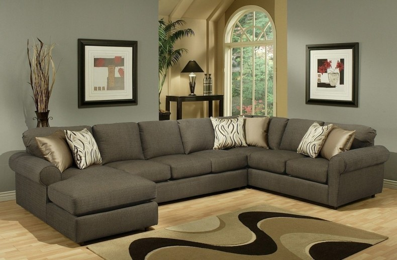 Beautiful Large Sectional Sofa With Chaise Lounge Living Room Comfortable Double Chaise Sectional For Excellent