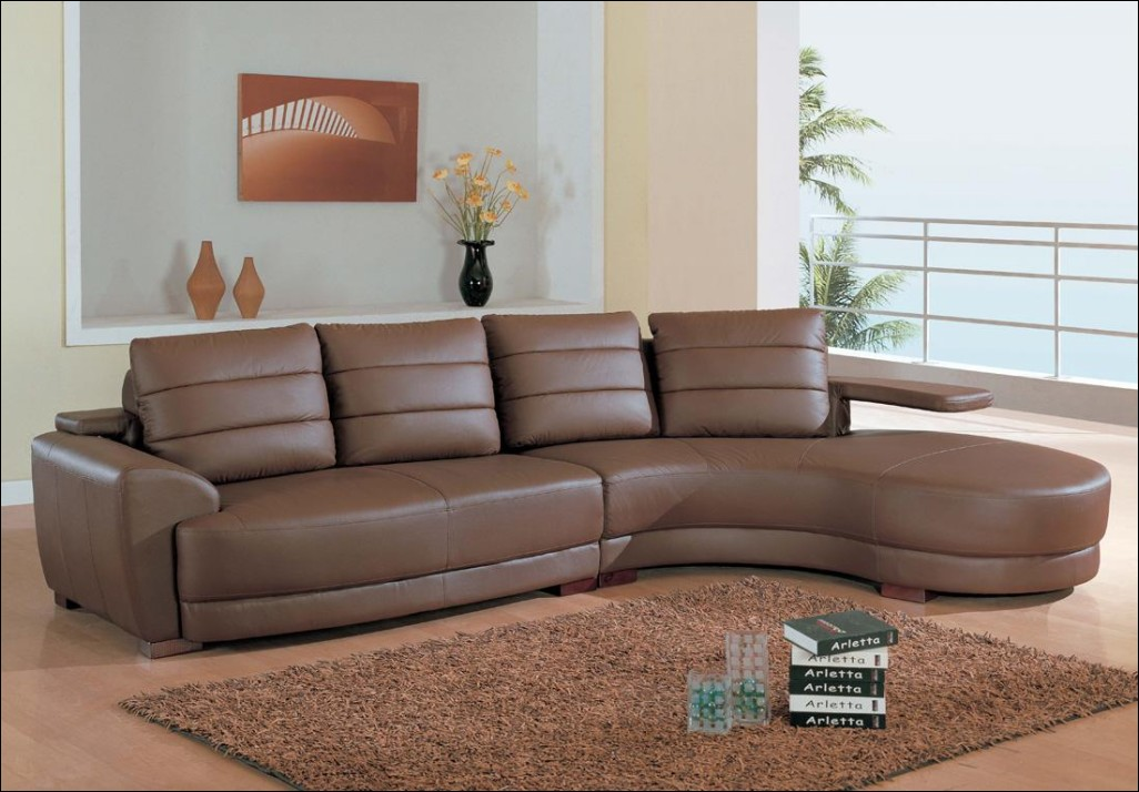 Beautiful Leather And Cloth Sectional Furniture Leather And Fabric Sectional Modular Sectional Sofa