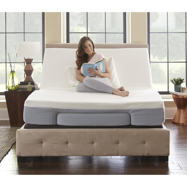 Beautiful Memory Foam Foundation Queen Sleep Sync 8 Inch Queen Size Memory Foam Mattress And Adjustable