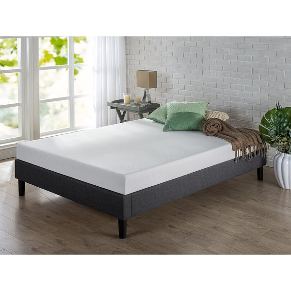 Beautiful Memory Foam Mattress Frame Zinus Green Tea 6 Firm Memory Foam Mattress Reviews Wayfair
