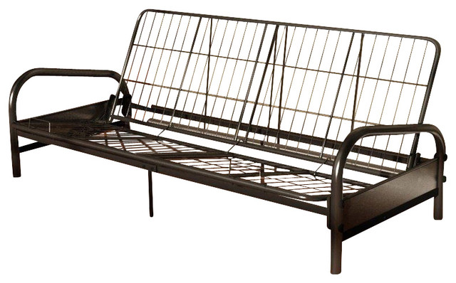 Beautiful Metal Futon Frame Queen Size Vermont Metal Futon Frame In Black Contemporary Futon Frames