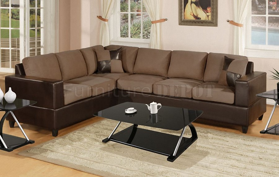 Beautiful Microfiber Leather Sectional Sofa Leather And Microfiber Sofa And Standard Sofa The Hit Sofa Your