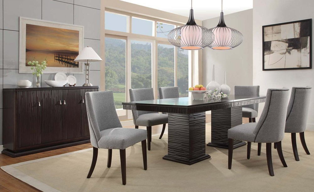Beautiful Modern Dining Room Table And Chairs Contemporary Dining Room Table