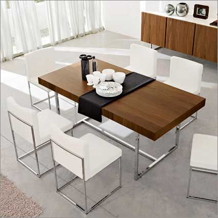Beautiful Modern Rectangular Dining Table Best 25 Modern Dining Table Ideas On Pinterest Dining Room