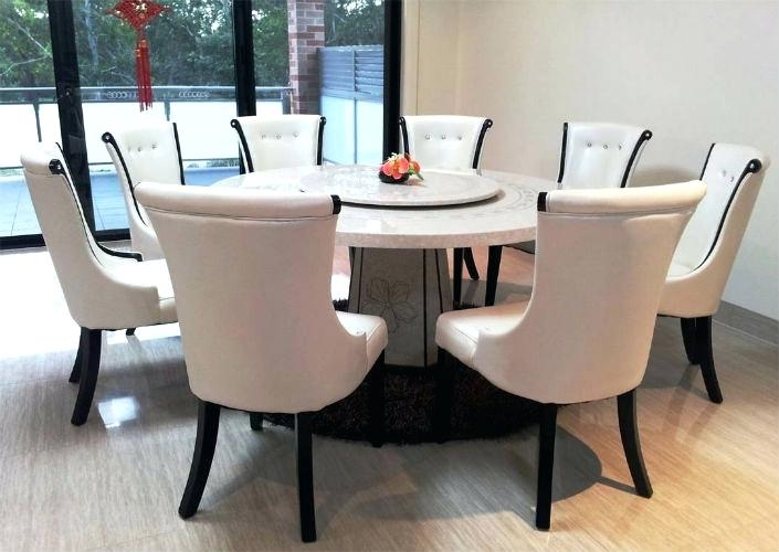 Beautiful Modern Round Dining Table For 8 Cool Round Dining Tables Mitventuresco