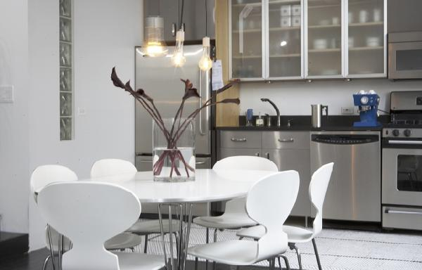 Beautiful Modern White Kitchen Table White Modern Dining Table Design Ideas