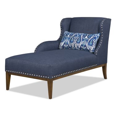 Beautiful Navy Blue Chaise Lounge Indoor Chaise Lounge Navy Thesecretconsul