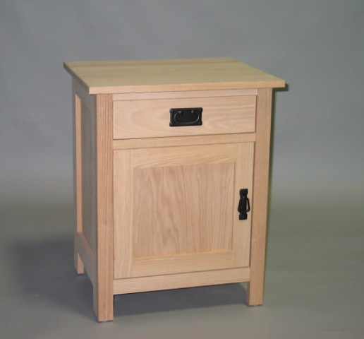 Beautiful Nightstand With Door And Drawer 1 Drawer Nightstand W Shelf