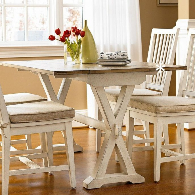 Beautiful Off White Wood Dining Chairs Kitchen Amazing White Dining Room Sets Kitchen High Chairs
