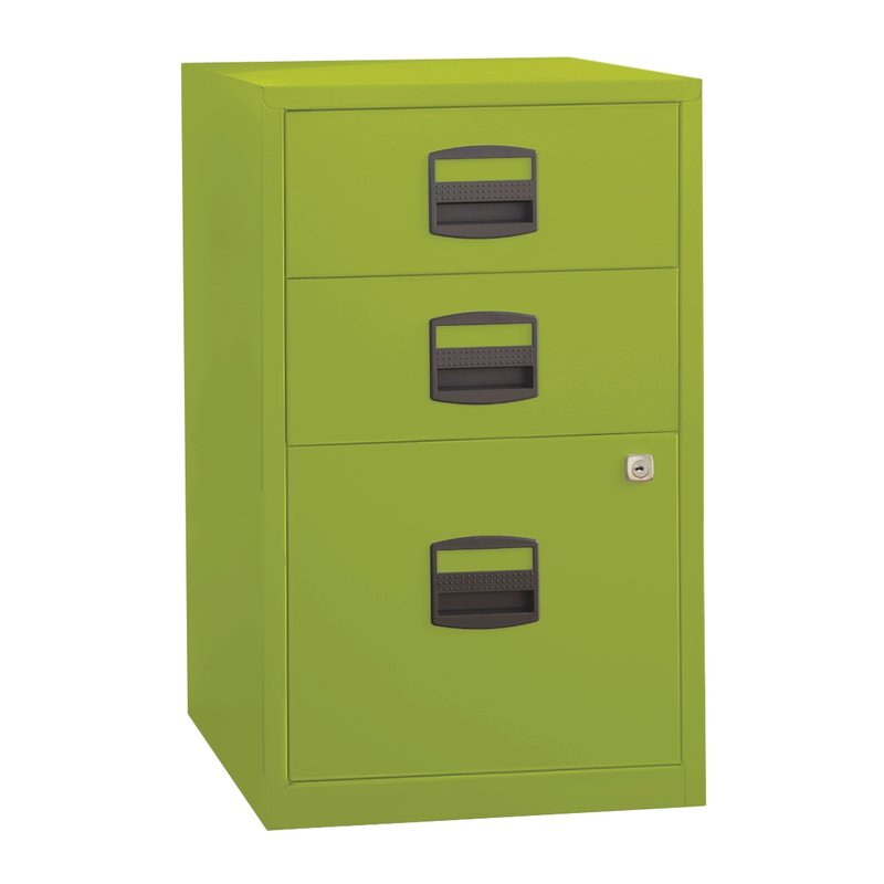 Beautiful Office File Cabinets With Locks Wrought Studio Castaneda 3 Drawer Steel Home Or Office Filing