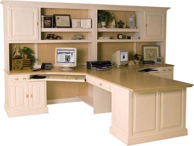 Beautiful Office Furniture For Two Good Home Office Furniture For Two People The Peninsula Desk Makes
