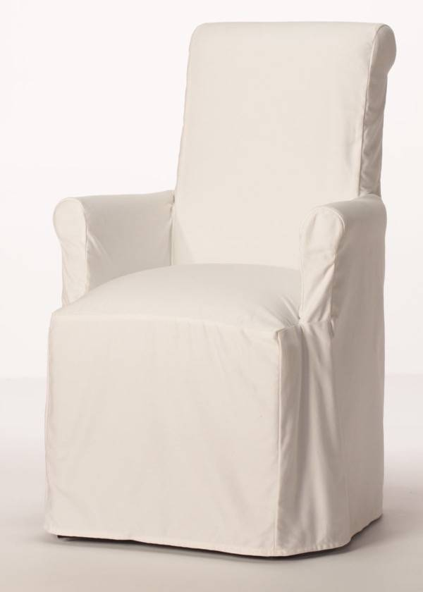 Beautiful Parsons Dining Chairs With Arms Purity Arm Chair Slipcover Customize Style Fabric Buy Direct