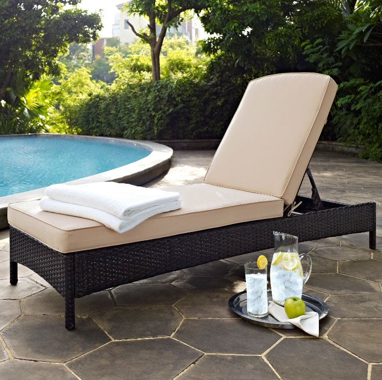Beautiful Patio Chaise Lounge Chair Outdoor Lounge Chairs