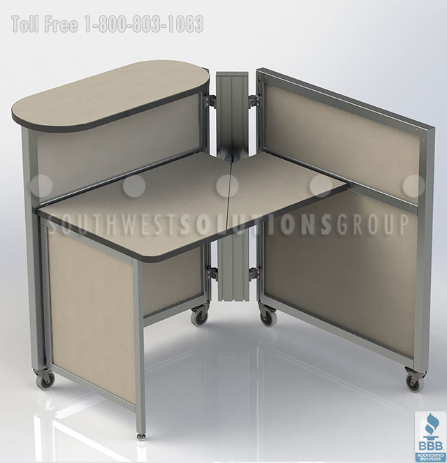 Beautiful Portable Office Table Mobile Office Workstations Benching Systems Portable Cubicles