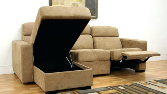 Beautiful Reclining Couch With Chaise Sofa With Chaise And Recliner Centerfieldbar
