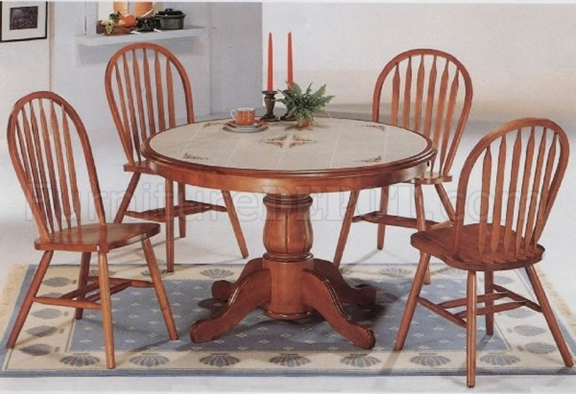 Beautiful Round Back Kitchen Chairs Classic Oak Dining Room Round Table Deluxe Arrow Back Chairs