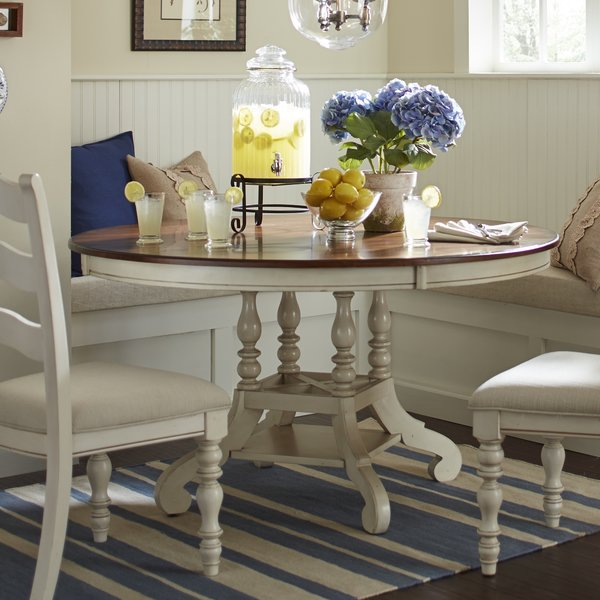 Beautiful Round Extendable Dining Table Dalton Round Extending Dining Table Reviews Birch Lane