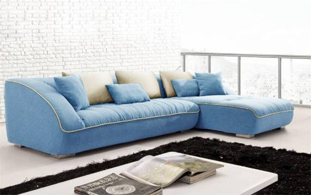 Beautiful Small Blue Sectional Sofa Blue Sofa Sectional Home Interior Decor Blog