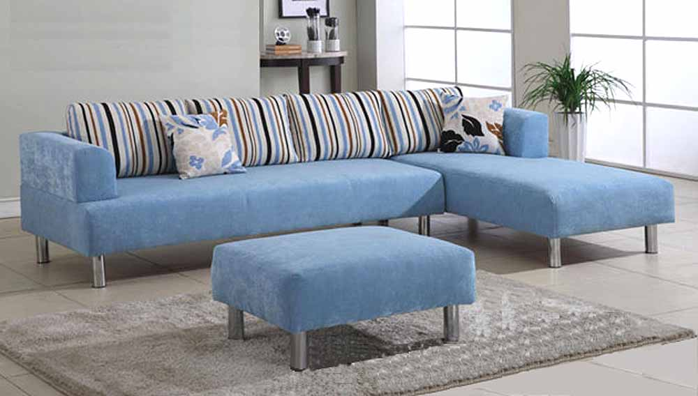 Beautiful Small Blue Sectional Sofa Sectional Sofa For Small Spaces Homesfeed