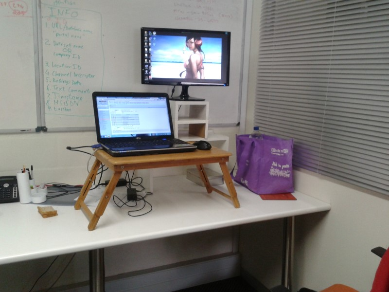 Beautiful Standing Desk Hack Standing Desks And Me An Exploring South African
