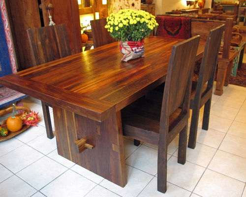 Beautiful Teak Dining Table Reclaimed Teak Dining Tables