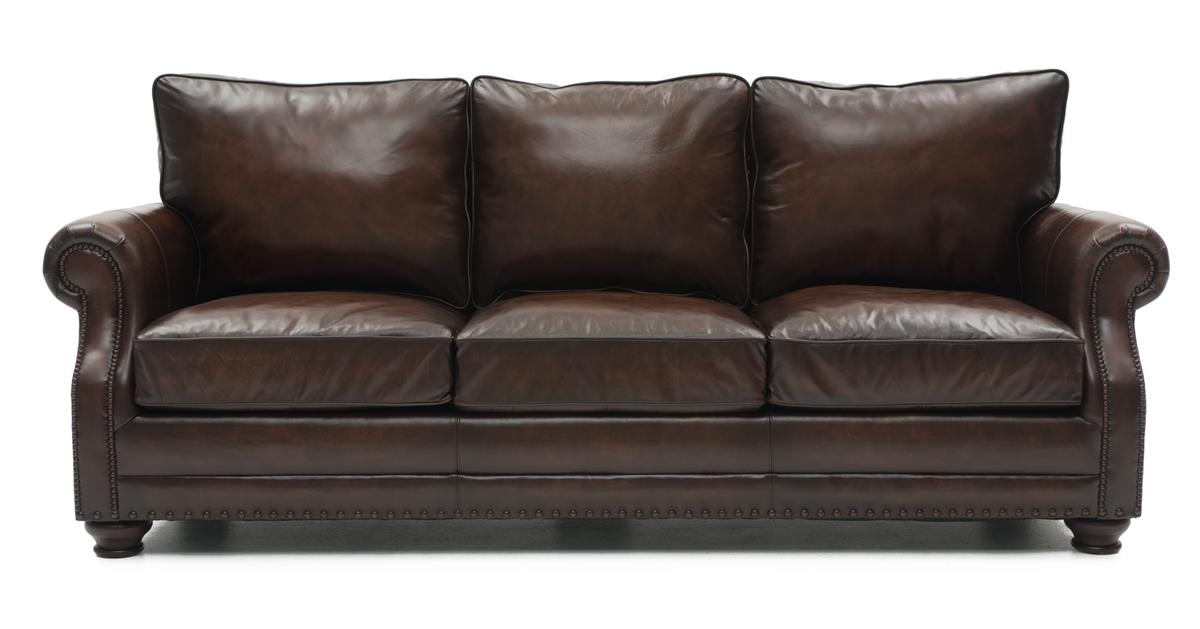 Beautiful Top Grain Leather Sofa Princeton Top Grain Leather Sofa Weirs Furniture
