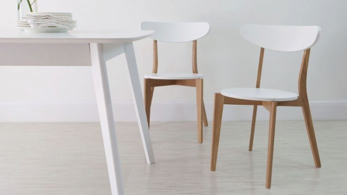 Beautiful White And Wood Kitchen Chairs Best White Wooden Kitchen Chair